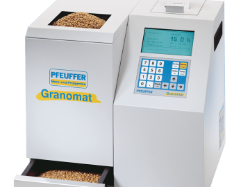 Moisture, temperature and specific weight analyzer Granomat