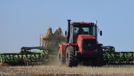 У Казахстані зернові культури були посіяні на 35,6% площ