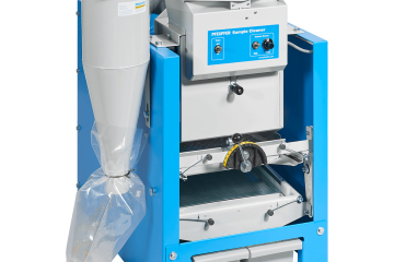 Laboratory grain cleaner