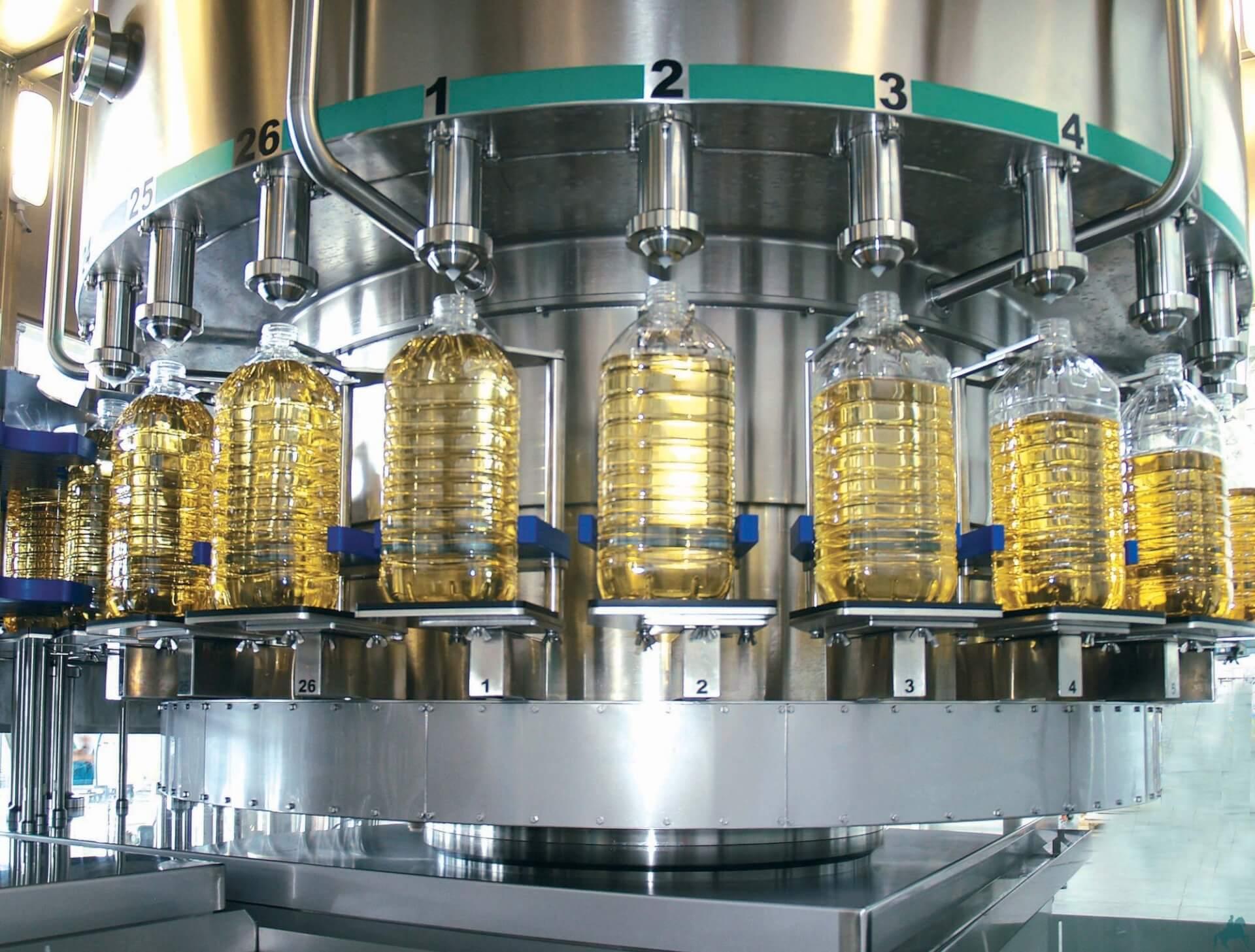 Итоги 2017 года: Изготовление подсолнечного масла в Украине