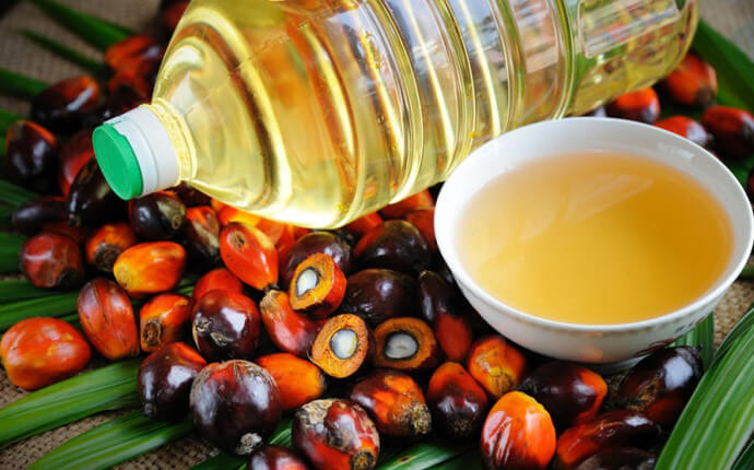 Поставки пальмового масла в Украину
