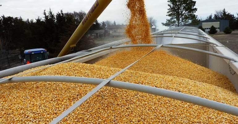 Транспортировка зерна в Казахстане