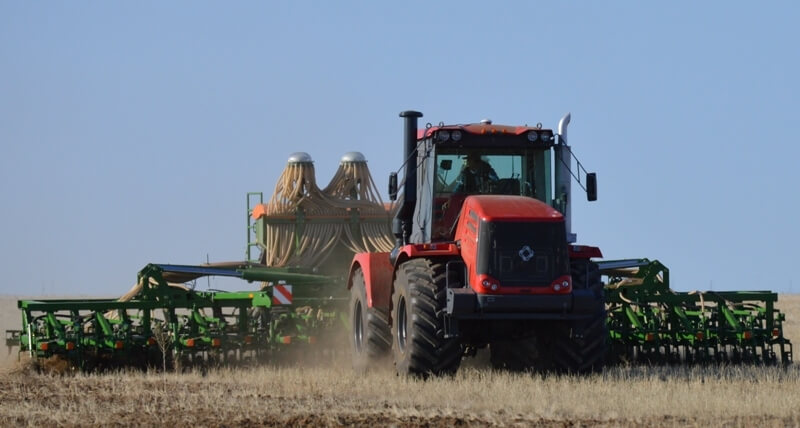 В Казахстане зерновые культуры были посеяны на 35,6% площадей