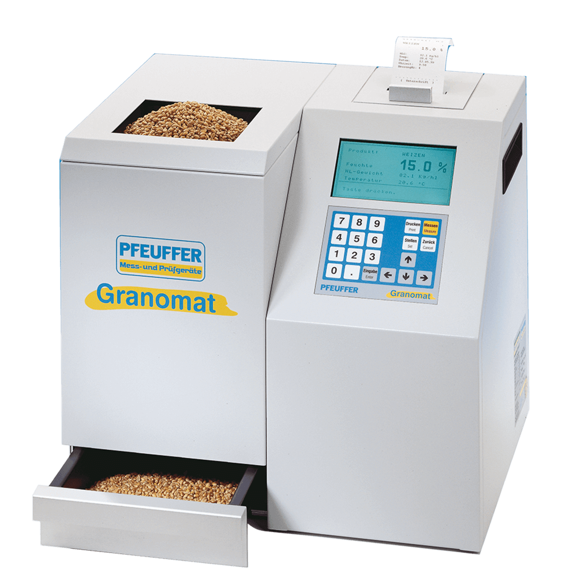 Анализатор влажности, температуры и натурного веса Granomat